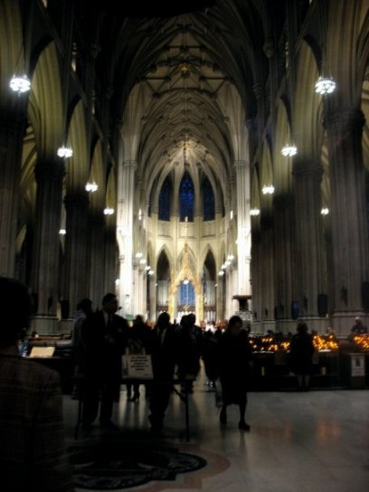 What would Hollywood rom-coms do without Saint Patrick's Cathedral?
