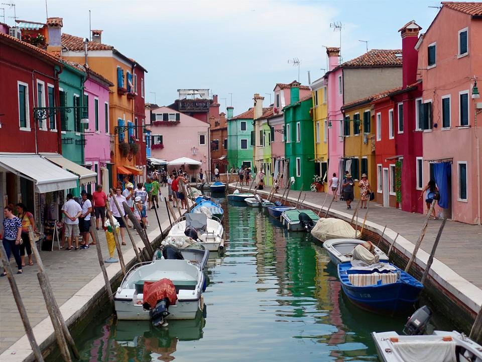 Beautiful Burano homes