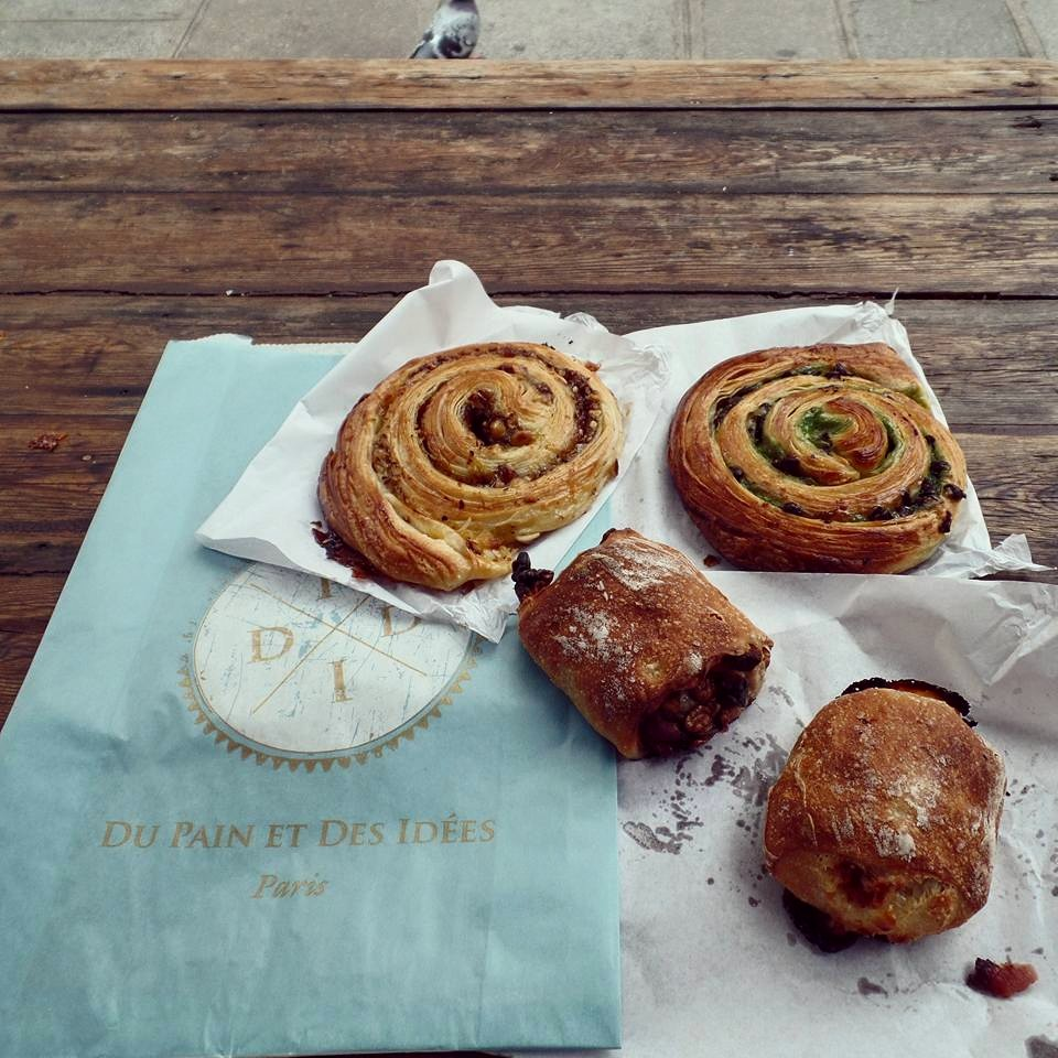 Pastries from our neighborhood boulangerie