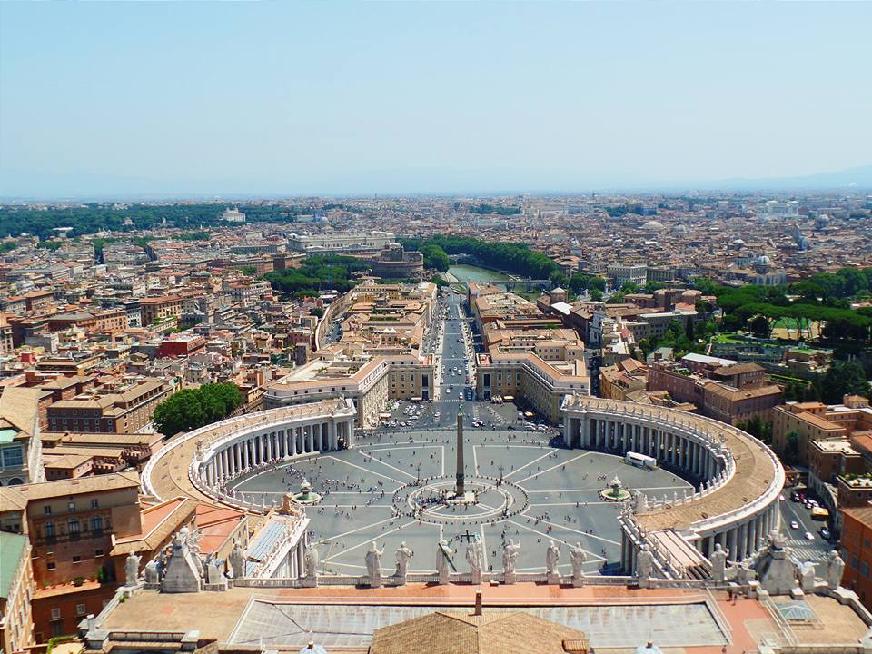 View of Vatican City