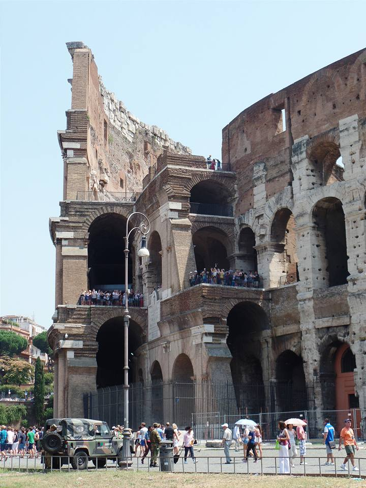 Perfect cross-section of the Colosseum