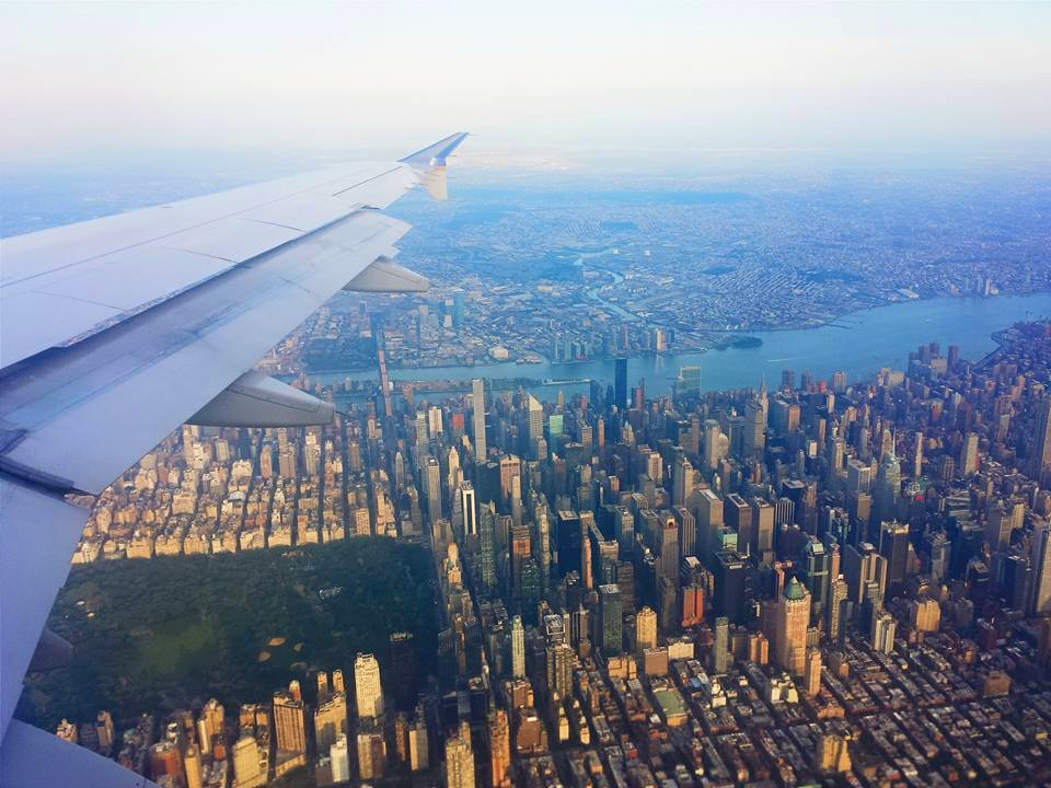 Traveling is even better when you know you're coming home to the best city in the world
